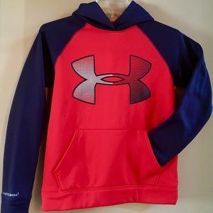 Big boys under armor pullover hoodie